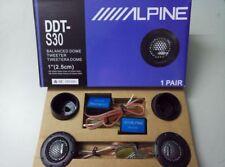 New 2pcs Alpine DDT-S30 180W Car Tweeter 1inch Speaker Silk Dome Audio Component