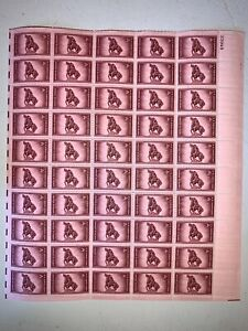 US Stamps SC# 973 Rough Riders 3c sheet of 50 MNH 1948