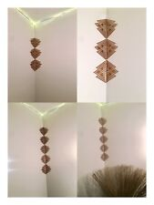 Bronze Copper Corner Wall Art Home Accent Decal Sticker 10pc Set Free Shipping