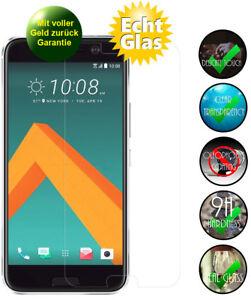 HTC 10 / One M10 Schutzglas 9H Panzerfolie Echtglas Displayschutz Glasfolie