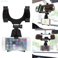 3990 Car Vehicle Rearview Mirror Mount Mobile Phone GPS Holder Bracket Stand