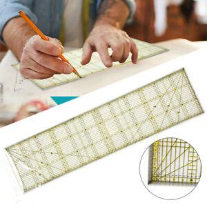 Schneiderlineal DIY Patchwork Quilt Rollschneider Lineal Universal 60 x 15 cm