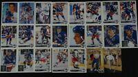 1992-93 Upper Deck New York Rangers Partial Team Set 23 Hockey Cards Missing 10