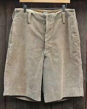 More details for vintage corduroy adult scout shorts circa 1930s or 40s? scout shop hq label 36