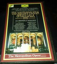 the metropolitan opera gala 1991 vhs video james levine verdict strauss