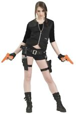 Treasure Huntress Holster & Toy Guns Lara Croft Tomb Raider Costume Accessory
