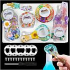 Bottle Opener Resin Molds Silicone Kit Beer Opener Silicone Molds for Epoxy R...