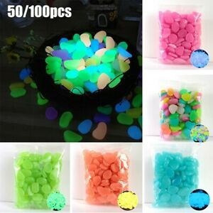 50/100*  Round Glass Pebbles Stones Nuggets Beads Button Lots Quantities Colours
