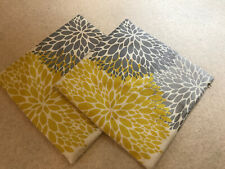 Two Cushion Covers 45x45cm