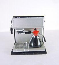 Dollhouse Miniature Plastic Espresso Machine w/ accessories, G8216