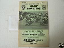 1976 INTERNATIONALE OLOF RACES CIRCUIT BEEKSE BERGEN TILBURG 11 APRIL HERO