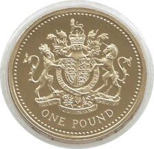 2008 Last Year Issue Royal Arms £1 One Pound Proof Coin Fourth Portrait