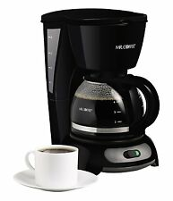 Mr. Coffee TF5 4-Cup Switch Coffeemaker, Black , New, Free Shipping