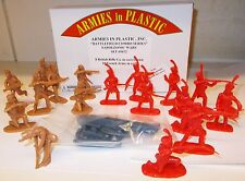Armies in Plastic 5672 - Napoleonic Wars, 8 British Rifles 10 French Army   1/32