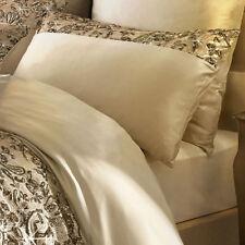 Satin Patternless Modern Pillow Cases