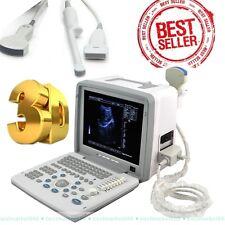 Digital Scan Ultrasound Scanner Machine+3 probes CONVEX, LINEAR, TV +Free 3D UPS