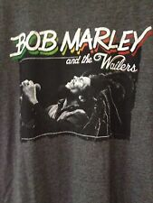 Bob Marley And The Wailers Size XL Grey Gray T-shirt Short Sleeve