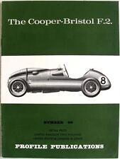 The COOPER-BRISTOL F.2 Car Profile Publications No 66