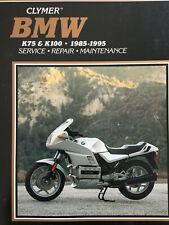 bmw k75 k100 1985 repair service manual