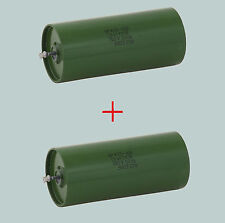 1.5 uF 750 V LOT OF 2 RUSSIAN HYBRID PAPER IN OIL PIO AUDIO CAPACITORS K75-10V