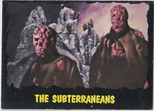 OUTER LIMITS 1964 TOPPS (BUBBLES, INC) VINTAGE CARD #44 THE SUBTERRANEANS