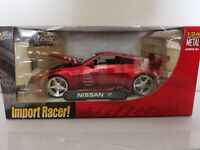 *NEW SEALED* Jada Toys Nissan Z 350z  Import Racer 1:24 Die Cast RED NIB VHTF