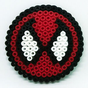 Marvel Comics SPIDERMAN small handmade Hama beaded coaster