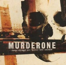 Murder One Some Things Are Better Left Unsaid CD NEW 2006