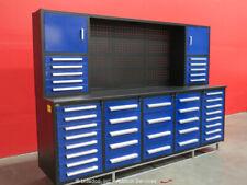 Steelman 40-Drawer 10Ft Steel Work Bench Tool Cabinet Shop Box bidadoo -New