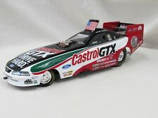 "JOHN FORCE CASTROL GTX ""8X CHAMPION' NHRA 1/24 DIE CAST FUNNY CAR (NIB) 99"" LTD"