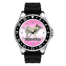 Volpino Italiano Dog Breed Unisex Mens Ladies Silicone Strap Wrist Watch Se668