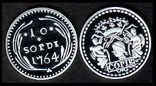 ★★ CORSE : RARE COPIE DU 10 SOLDI 1764 ★ NEUVE FDC