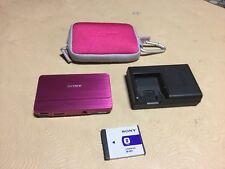 SONY CYBERSHOT DSC-T700 10.1 MEGAPIXELLS DIGITAL CAMERA COLOR PINK