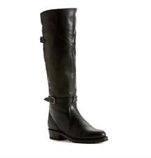Frye Women's Black Dorado Genuine Rabbit Fur Lined Riding Boots 5048 Sz 9