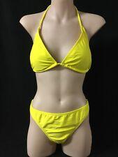 Yellow Swimwear Bikini Bathers L New