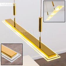 LED Design Pendellampe Ess Wohn Zimmer Lampen Hänge Küchen Leuchte Messingfarben