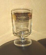 Luminarc 1 Weißweinglas, Golddekor