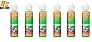 6x Liquide Lave Glace 250ml Concentré 1:100 (Soit 25l de Liquide) Parfum Forêt