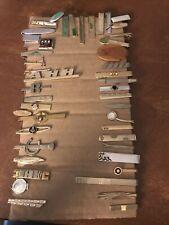 vintage tie clip lot