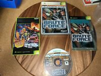 Brute Force Platinum Hits, CIB & TESTED (Microsoft Xbox, 2003)