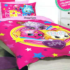 Shopkins - SPK Dreams - Single/US Twin Bed Quilt Doona Duvet Cover set