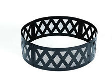 "New 36"" Camp Fire Ring Lattice Design Backyard Portable Outdoor Camping Pit"