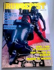 Vintage Rubberist Magazine No 21 From Shiny Publication Rubber PVC Latex Fashion