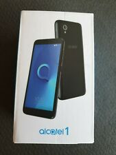 "ALCATEL 1 ONE 5033X 8GB 4G BLACK 8GB 5"" VODAFONE Android Smartphone brand new"