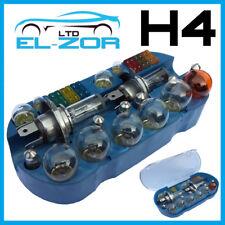H4 Emergencia Bombilla Fusible Kit de coche recambio x30 233 BA9S 382 380 1156