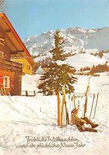 B62619 Weihenzell ski sky   germany