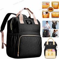 Waterproof Maternity Diaper Bag Mom Backpack Large Capacity Baby Nursing Bag