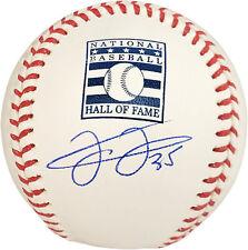 """FRANK THOMAS AUTOGRAPHED HOF LOGO MLB BASEBALL WHITE SOX """"HOF 14"""" BECKETT 177473"""