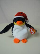 Ty Beanie Baby ZERO Plush Orange Black and Yellow Penguin Original