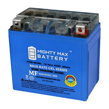 12V 1AMP CHARGER Mighty Max YTX5L-BS Battery for Yamaha TMF90R Raptor